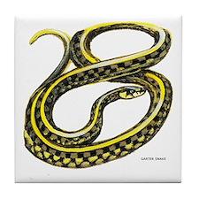 Garter Snake Tile Coaster