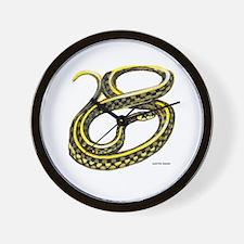 Garter Snake Wall Clock