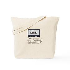 Dean & Sam Mix Tape Tote Bag