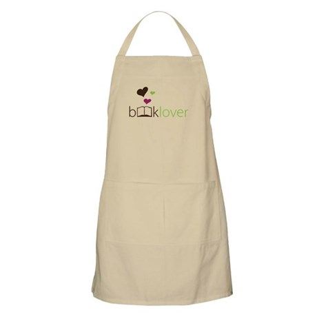Book Lover - floating hearts Apron