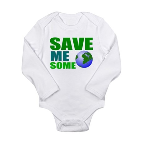 Save earth for baby Body Suit
