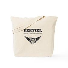 Destiel Quote Series #1 Tote Bag