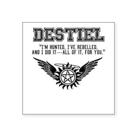 Destiel Quote Series #4 Sticker