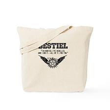 Destiel Quote Series #4 Tote Bag