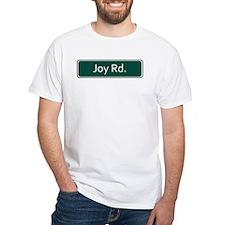 Joy Rd. Street Sign - Detroit T-Shirt