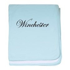 Classic Style - Winchester baby blanket