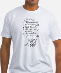 Bill W handwritten first steps Shirt