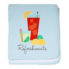 Refreshments baby blanket