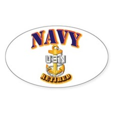 NAVY - CPO - Retired Decal