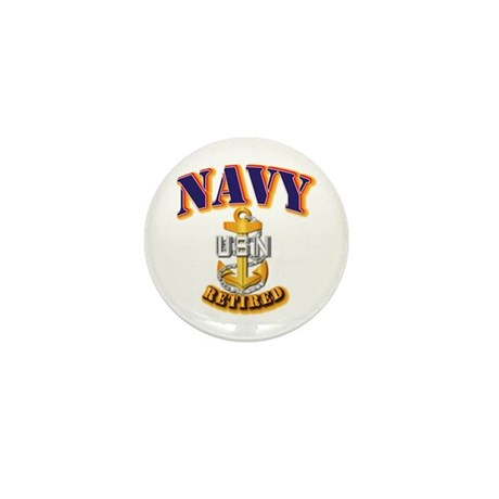 NAVY - CPO - Retired Mini Button (100 pack)