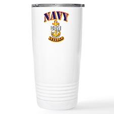 NAVY - CPO - Retired Travel Mug
