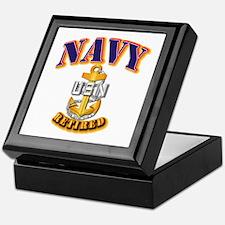 NAVY - CPO - Retired Keepsake Box