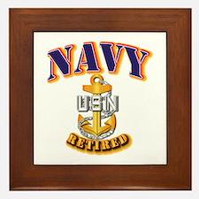 NAVY - CPO - Retired Framed Tile