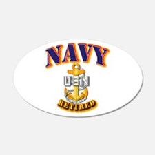 NAVY - CPO - Retired Wall Decal