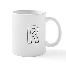 Outline Monogram R Mug