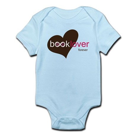 Book Lover Forever - brown/pink Body Suit
