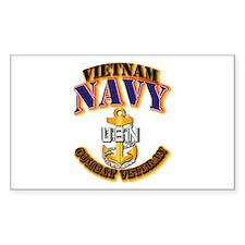 NAVY - CPO - VN - CBT VET Decal