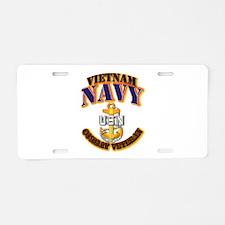 NAVY - CPO - VN - CBT VET Aluminum License Plate