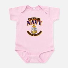 NAVY - CPO - VN - CBT VET Infant Bodysuit