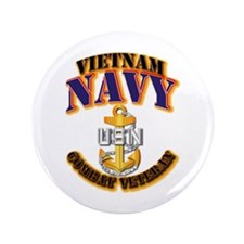 "NAVY - CPO - VN - CBT VET 3.5"" Button (100 pack)"