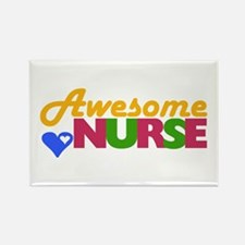 Awesome Nurse Rectangle Magnet