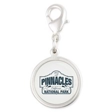 Pinnacles National Park Silver Round Charm