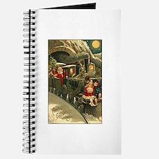 Santa's Victorian Christmas Train Journal