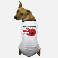 Cute Food fight Dog T-Shirt