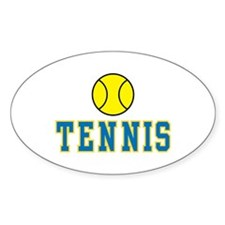 Tennis Oval Decal