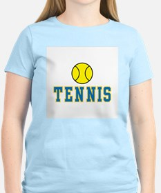 Tennis Women's Pink T-Shirt