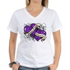 Epilepsy Hope Dual Heart Shirt