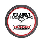 Official Hucker Wall Clock