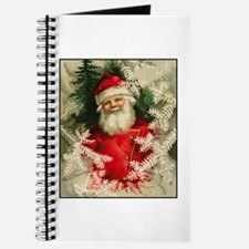 Jolly Victorian Santa Claus - Christmas Journal