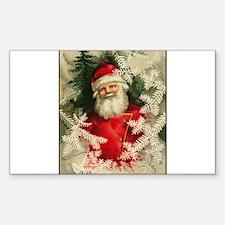Jolly Victorian Santa Claus - Christmas Decal