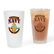 NAVY - CPO w VN SVC Drinking Glass