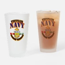 NAVY - CPO w VN SVC Drinking Glass