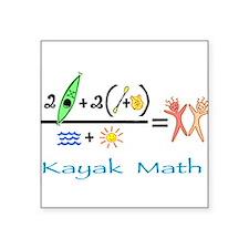 Kayak Math Sticker