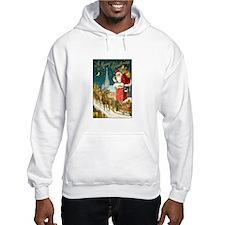 Santa Down the Chimney Hoodie