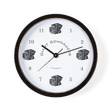 Giant Schnauzer  Wall Clock