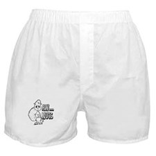 Aw Nuts Squirrel Boxer Shorts