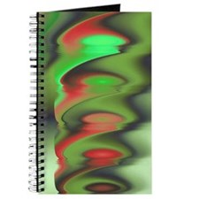 """""""Red Green 2"""" Fractal Art Journal"""