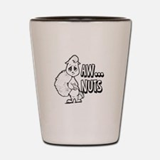 Aw Nuts Squirrel Shot Glass