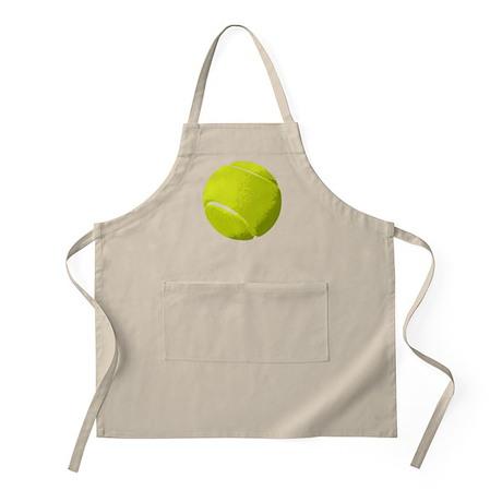 Tennis Ball Artistic US Open Wimbleton Apron