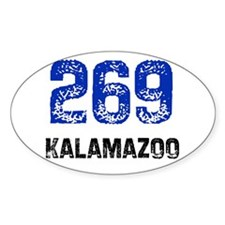 269 Oval Decal
