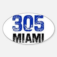 305 Oval Decal