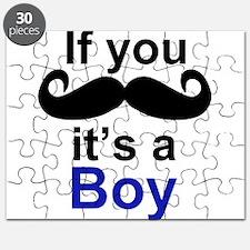 If you moustache its a boy Puzzle