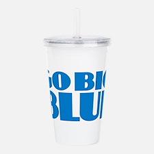 Go Big Blue Acrylic Double-wall Tumbler