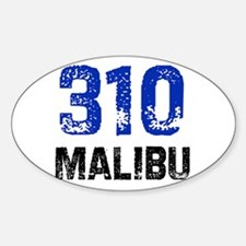 310 Oval Decal