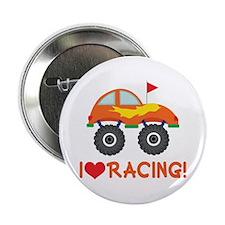 "I Heart Racing 2.25"" Button"