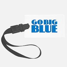 Go Big Blue Luggage Tag